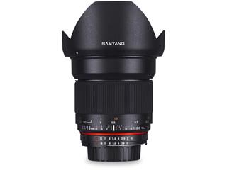 SAMYANG/サムヤン 16mm F2.0 ED AS UMC CS ニコンF(AE)用※受注生産のため、キャンセル不可 【受注後、納期約2~3ヶ月かかります】【お洒落なクリーニングクロスプレゼント!】