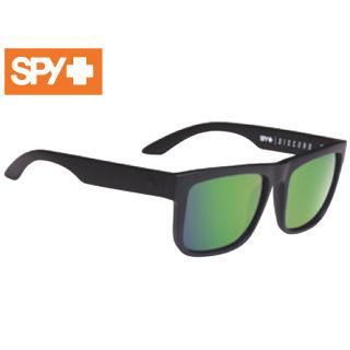 【nightsale】 SPY/スパイ 673119374861 DISCORD [フレーム:MATTE BLACK] (レンズ:Happy Bronze Polar w/ Green Spectra)