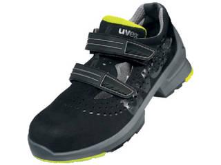 uvex/ウベックス サンダル ブラック/ライム 25.5cm 8542.4-40