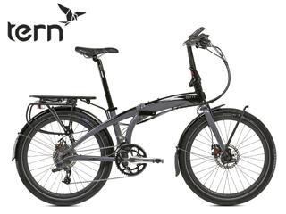 TERN/ターン Eclipse S18 折りたたみ自転車 【24インチ】 (グレー/ブラック) メーカー直送品のため【単品購入のみ】【クレジット決済のみ】 【北海道・沖縄・離島不可】【日時指定不可】商品になります。