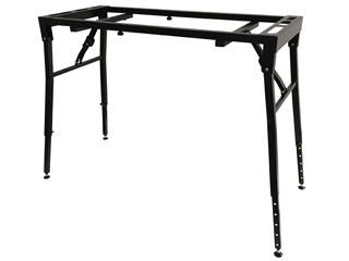 K&M/ケーアンドエム 【納期にお時間がかかります】ST18951 キーボードスタンド【88鍵】【立奏・座奏】【高さ・幅 調節可能】 耐荷重80kg テーブル型キーボードスタンド