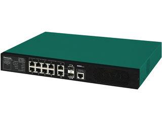 パナソニックESネットワークス 【キャンセル不可】10ポート PoE給電スイッチングハブ 3年先出しセンドバック保守バンドル PN28089KB3