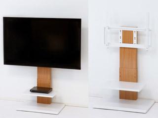 新生活お薦め!液晶TVを壁掛け風に設置できるテレビ台!