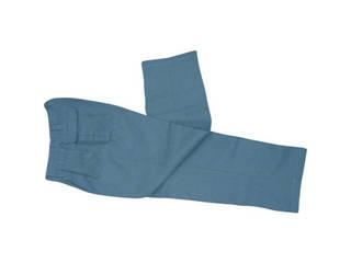 YOSHINO/吉野 ハイブリッド(耐熱・耐切創)作業服 ズボン Lサイズ ネイビーブルー YS-PW2BL