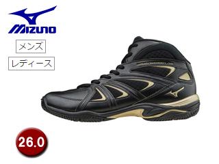 mizuno/ミズノ K1GF1571-09 ウエーブダイバース LG3 フィットネスシューズ 【26.0】 (ブラック)
