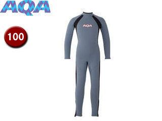 AQA/アクア KW4506A-5910 キッズフルスーツ 【100】 (スモークブルー×マットブラック)