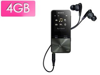 SONY ソニー NW-S313-B(ブラック) 4GB ウォークマン Sシリーズ(メモリータイプ)