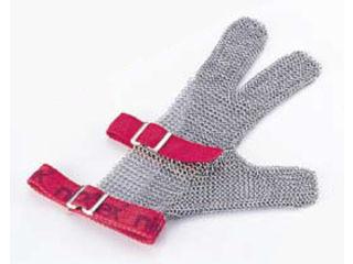 ニロフレックス メッシュ手袋3本指/SS SS3(緑)