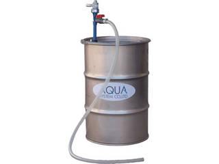 【組立・輸送等の都合で納期に4週間以上かかります】 AQUA/アクアシステム 【代引不可】ケミカルドラムポンプPP製(エア式)溶剤・薬品用 CHD-20APP-V