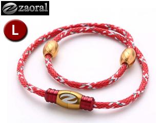 zaoral/ザオラル N13014 リカバリーネックレス 【Lサイズ:55cm】 (レッド/ゴールド)