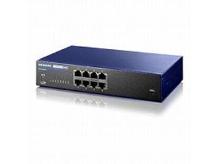 I・O DATA/アイ・オー・データ IEEE802.1X認証対応 L2インテリジェントスイッチ 8ポート BSH-G08M ミレニアム群青モデル