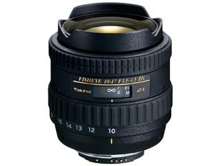 TOKINA/トキナー AT-X 107 DX Fish Eye 10-17mm F3.5-4.5 (キャノン用) 【お洒落なクリーニングクロスプレゼント!】