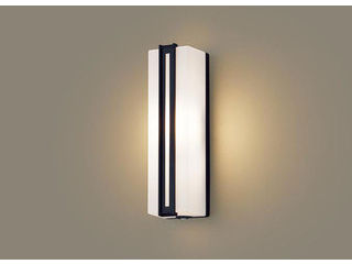Panasonic/パナソニック LGWC80413LE1 LEDポーチライト オフブラック【電球色】【明るさセンサ付】【壁直付型】