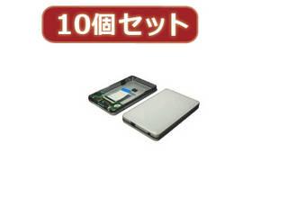 変換名人 変換名人 【10個セット】 東芝 1.8 HDD ケース(ZIF) HC-Z18/U2X10