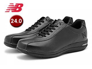 NewBalance/ニューバランス MW863-BK2-2E トラベルウォーキングシューズ メンズ 【24.0】【2E(標準)】(ブラック)