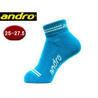 andro アンドロ 362004 卓球ソックス TANA ブルー 予約 使い勝手の良い ターナカラーソックス COLOR 25.0-27.5cm SOCKS