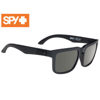 【nightsale】 SPY/スパイ 673015973863 HELM [フレーム:SOFT MATTE BLACK] (レンズ:Happy Gray Green)