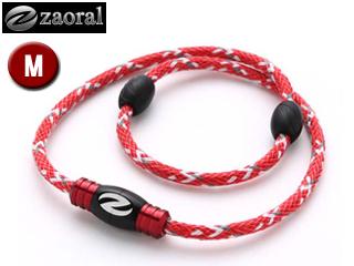 zaoral/ザオラル N13114 リカバリーネックレス 【Mサイズ:50cm】 (レッド/ブラック)