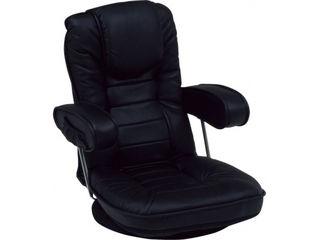 HAGIHARA/ハギハラ【メーカー直送代引不可】 【Legless Chair】 座椅子 LZ-1081BK 【同梱不可】 【沖縄・北海道・離島お届け不可/土日配送・配送時間指定不可】