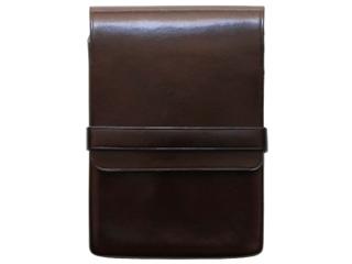 Il Bussetto/イルブセット Pen case/ペンケース  【ダークブラウン】 5本用 筆箱 万年筆 本革 ギフト プレゼント