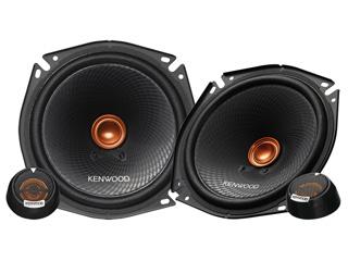 KENWOOD/ケンウッド KFC-RS173S 17cmセパレートカスタムフィット・スピーカー(ペア)