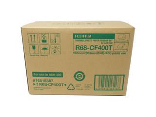 FUJIFILM/フジフイルム T R68-CF400T サーマルフォトプリントセット(6×8サイズ用:400枚分)