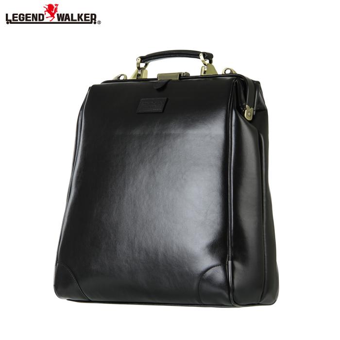 LEGEND WALKER/レジェンドウォーカー 9105-37 2way 縦型 ダレスバッグ (ブラック)