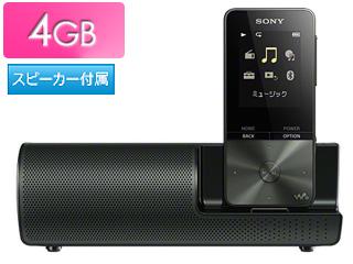 SONY ソニー NW-S313K-B(ブラック) スピーカー付 4GB ウォークマン Sシリーズ(メモリータイプ)