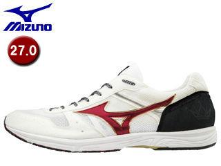 mizuno/ミズノ 【在庫限り】J1GA1875-62 WAVE EMPEROR JAPAN 3 ランニングシューズ 【27.0】 (ホワイト×レッド)