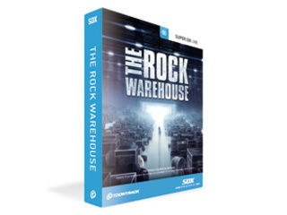 TOONTRACK/トゥーントラック SDX THE ROCK WAREHOUSE (SDX ザ・ロック・ウェアハウス) ソフトウェア音源【TRWSDX】