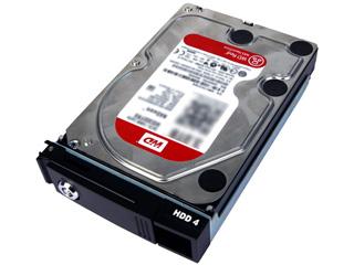 I・O DATA/アイ・オー・データ ウエスタンデジタル社Red採用LAN DISK Z専用 交換用ハードディスク 4TB HDLZ-OP4.0R