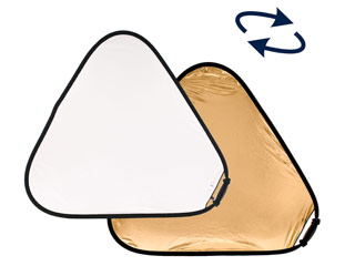 Lastolite/ラストライト LR3741 トライグリップ・ラージ 120cm ゴールド/ホワイト