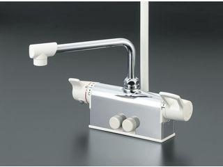 【ついに再販開始!】 デッキサーモシャワー 寒冷地用 KVK/ケーブイケー 取付100 KF781Z:ムラウチ-木材・建築資材・設備