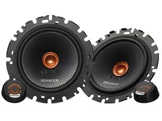 KENWOOD/ケンウッド KFC-RS163S 16cmセパレートカスタムフィット・スピーカー(ペア)