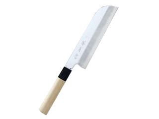 KAWAMURA/河村刃物 【堺菊守】極KIWAMI V10 鎌形薄刃 19.5cm