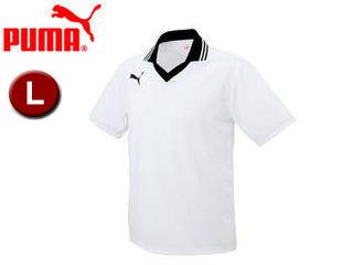 PUMA プーマ 903299-8 エリツキ 半袖 PCソフト ゲームシャツ AV  L   (WHITE-BLAC):ムラウチ propcol.co.ke 0cf669c60