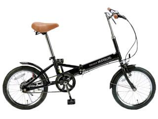 MyPallas/マイパラス M-101-BK 折畳自転車 【16インチ】 (ブラック) メーカー直送品のため【単品購入のみ】【クレジット決済のみ】 【北海道・沖縄・九州・四国・離島不可】【日時指定不可】商品になります。