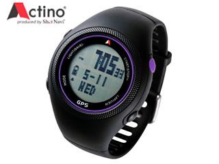 TECHTUIT/テクタイト WT300 Actino ランニングGPSウォッチ (パープル)
