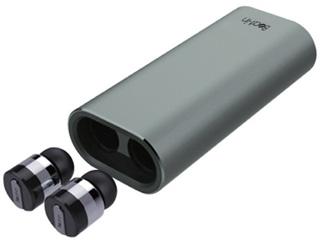 Yell Acoustic/エールアコースティック モバイルバッテリー対応 Bluetooth 4.1 完全ワイヤレスイヤホン Beat-in PowerBank BI9314 スペースグレー