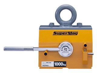 【組立・輸送等の都合で納期に1週間以上かかります】 KITO/キトー 【代引不可】スーパーマグ 平鋼専用タイプ 1000kg/KRL100