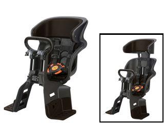 OGK/オージーケー FBC-011DX3 フロント チャイルドシート ヘッドレスト付コンフォート (黒/こげ茶)