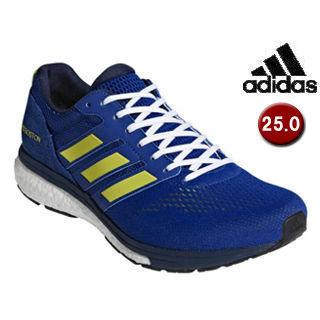 adidas/アディダス BB6537 adizero Boston 3 m 【25.0cm】 (カレッジロイヤル×ショックイエローF18×カレッジネイビー)