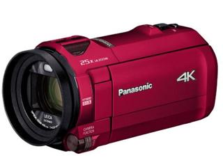 Panasonic/パナソニック HC-VX992M-R(アーバンレッド) デジタル4Kビデオカメラ ビデオカメラ