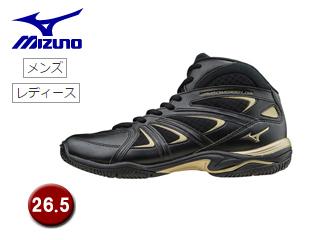mizuno/ミズノ K1GF1571-09 ウエーブダイバース LG3 フィットネスシューズ 【26.5】 (ブラック)