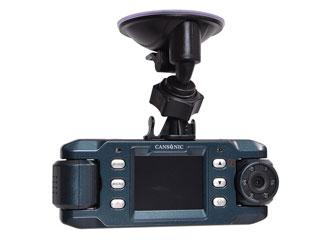 THANKO/サンコー GPS搭載!前後赤外線LED付きデュアルレンズドライブレコーダーGPS2 X9DVRDL