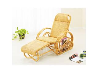 【代引不可商品】籐 三つ折寝椅子   H28A100