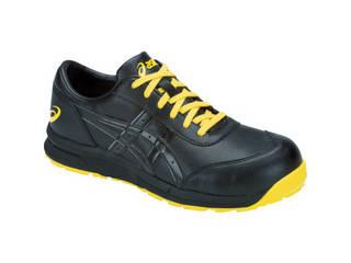 asics/アシックス 静電気帯電防止靴 ウィンジョブCP30E ブラック/ブラック 24.0cm 1271A003.001-24.0