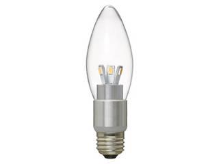 YAZAWA YAZAWA 【10個セット】 調光対応シャンデリア形LEDランプ LDC4LG37DX10