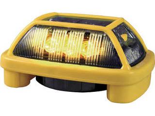 NIKKEI/日惠製作所 ニコハザード VK16H型 LED警告灯 黄 VK16H-004H3Y