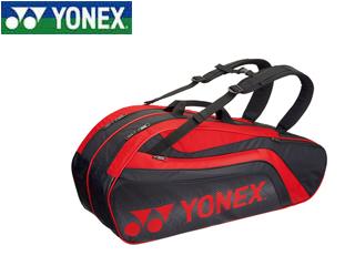 絶対一番安い YONEX/ヨネックス BAG1812R-187 ラケットバック6 リュック付き ラケット6本用 (ブラック×レッド), ウラソエシ:f558b829 --- business.personalco5.dominiotemporario.com